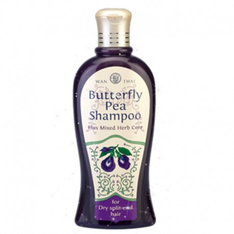 Wanthai Butterfly Pea Shampoo - Dry Split-end Hair