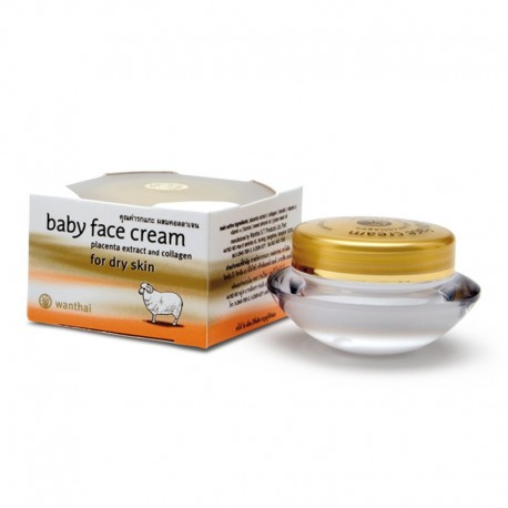 Wanthai Baby Face Cream - Dry Skin