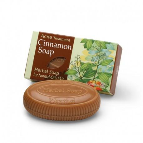 Wanthai Cinnamon Soap for Acne Treatment