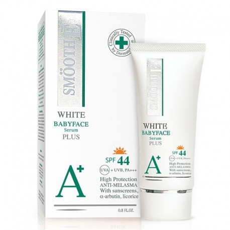 Smooth E White Babyface Serum Plus SPF44