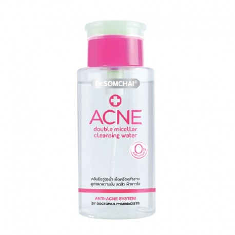 Dr. Somchai ACNE Double Micellar Cleansing Water