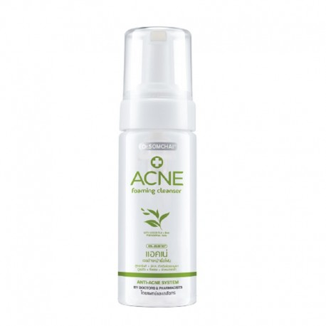 Dr. Somchai ACNE Foaming Cleanser with Green Tea
