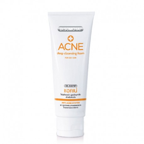 Dr. Somchai ACNE Deep Cleansing Foam for Oily Skin