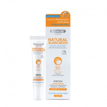 Dr. Somchai Natural Sunscreen SPF 50 for Face
