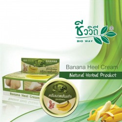 Bio Way Banana Heel Cream - 30 gram