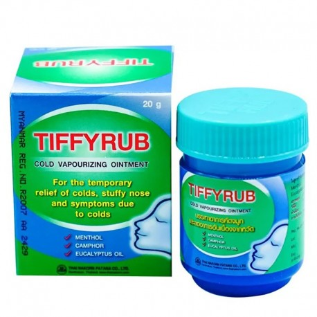 TIFFYRUB Cold Vapourizing Ointment
