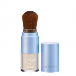 Cute Press Evory Snow Translucent Loose Powder with Brush
